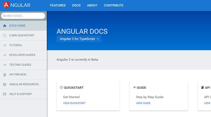 angular2 online docs