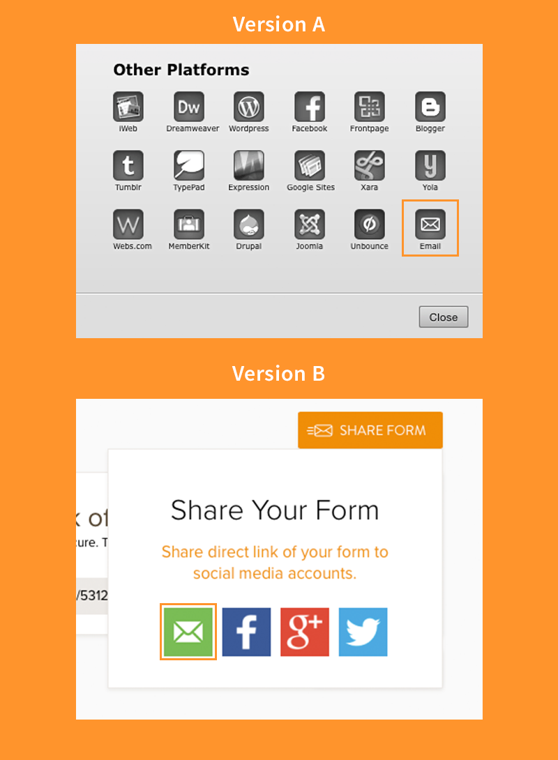 jotform testing example screen