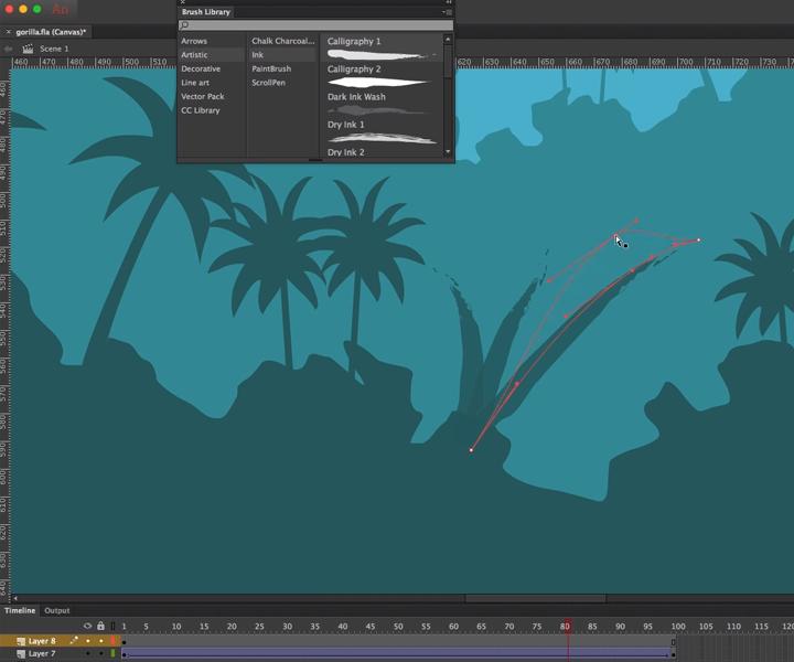 animate cc brush panel screenshot
