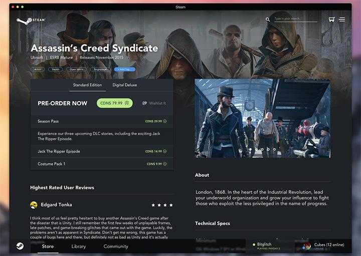 matt preston game store redesign