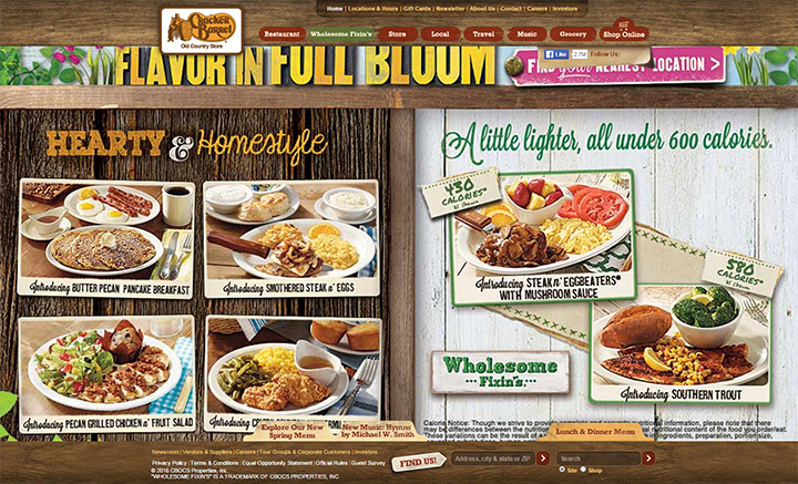 old cracker barrel website