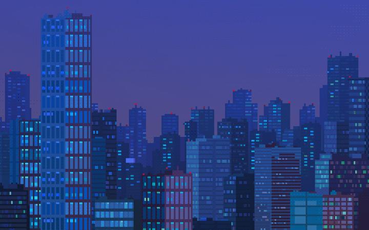 waneella dark city skyline