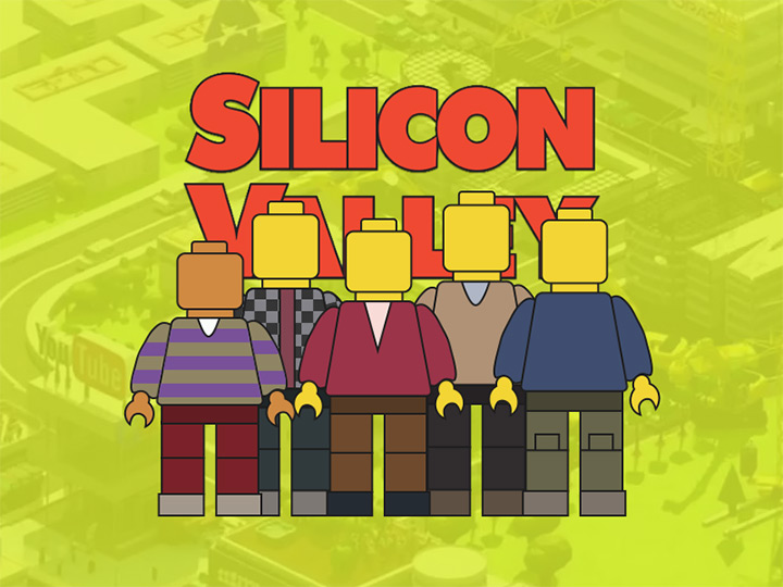 silicon valley tv show sketch icons