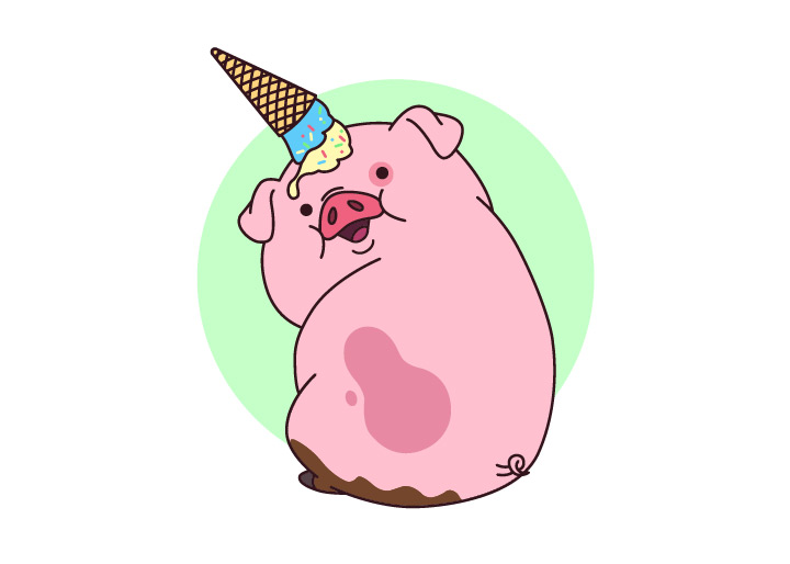 waddles gravity falls eps freebie
