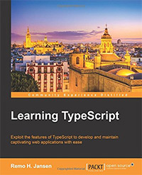 Learning TypeScript book cover