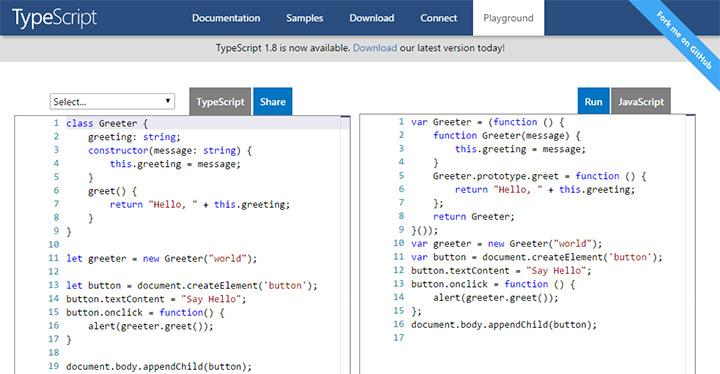 typescript online code playground