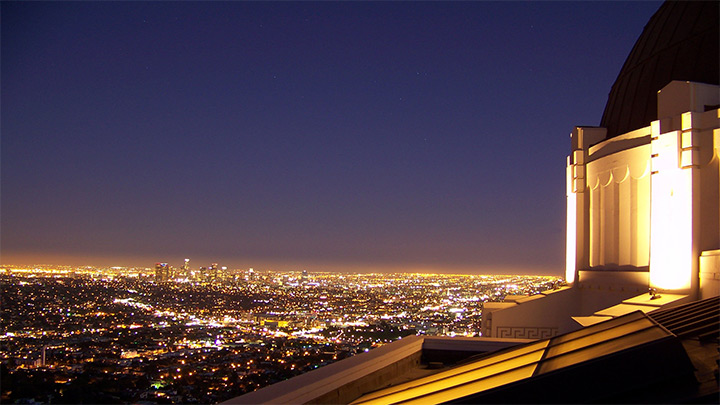 LA california griffith observatory wallpaper