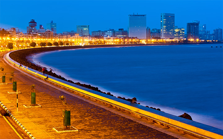 marine drive mumbai india wallpaper