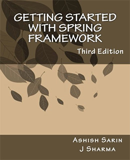 getting started spring framework