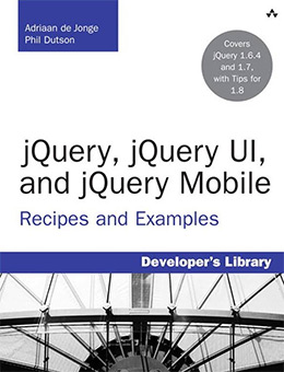 jquery ui mobile book
