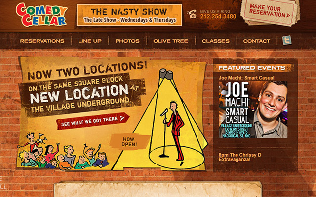 100 Comedy Club amp Stand Up Comedian Websites