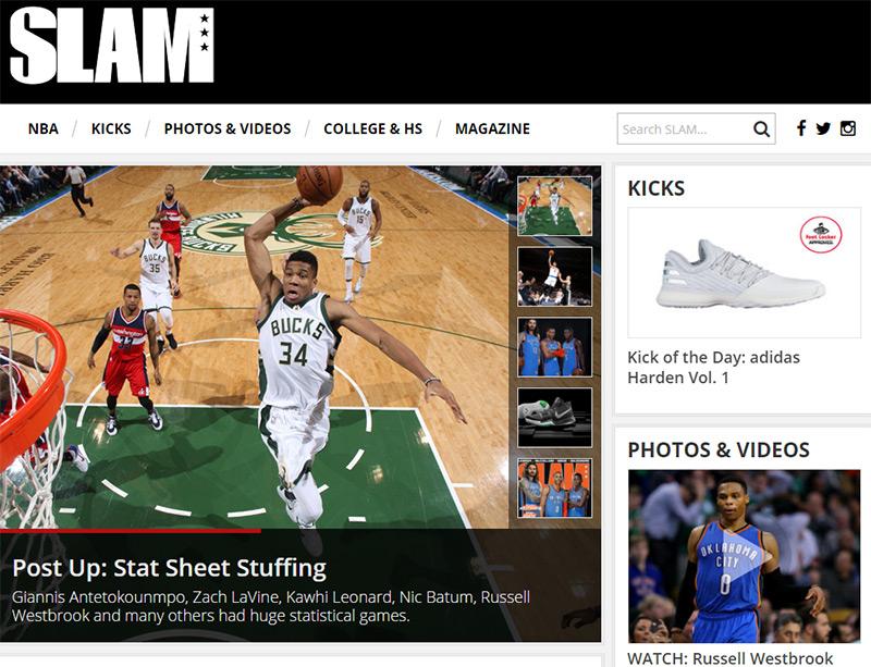 slam sports blog