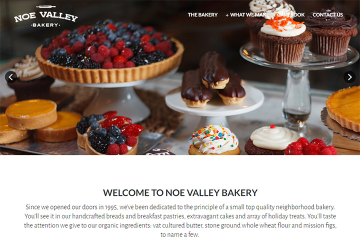 noe valley bakery website