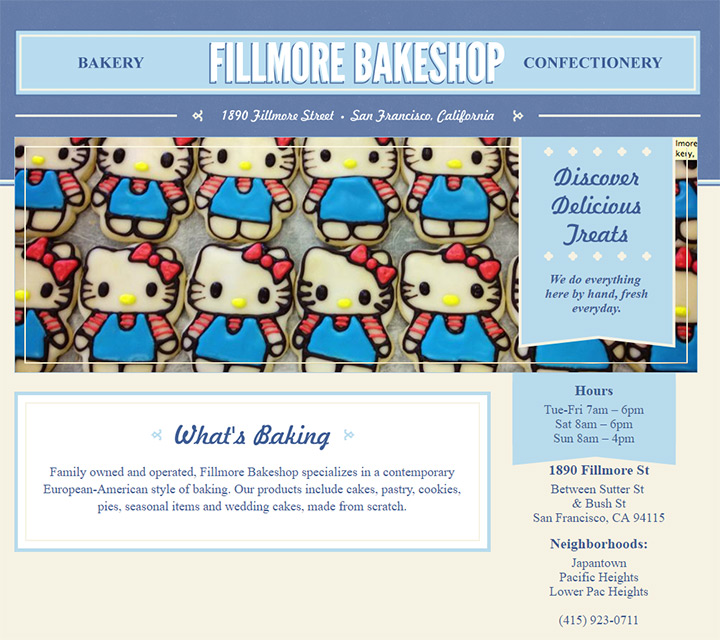 fillmore bakeshop
