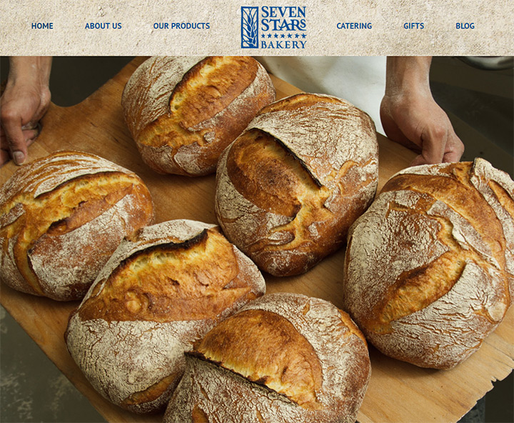 seven stars bakery website