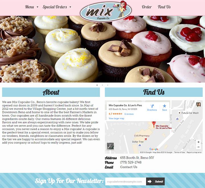 mix cupcake co
