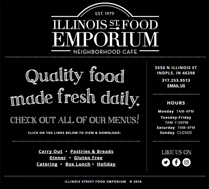 illinois food emporium