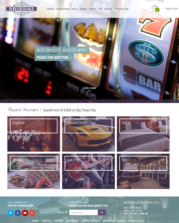 meskwaki casino