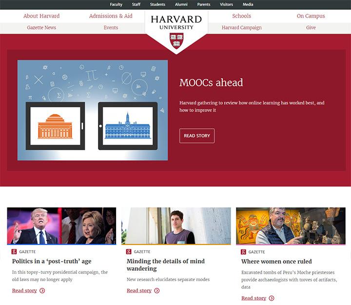 100+ College & University Websites For Design Inspiration