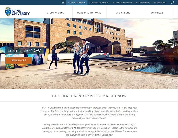 bond university layout