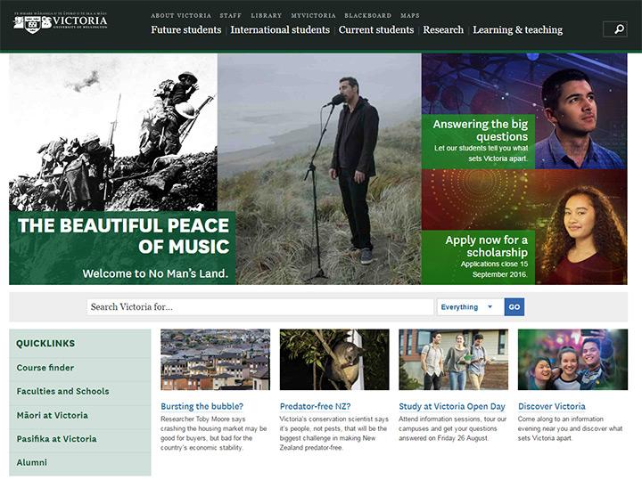 wellington university website