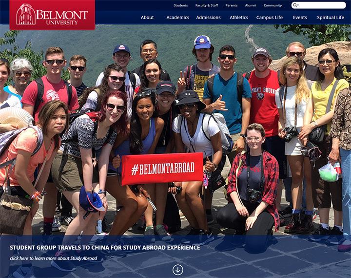 belmont uni website
