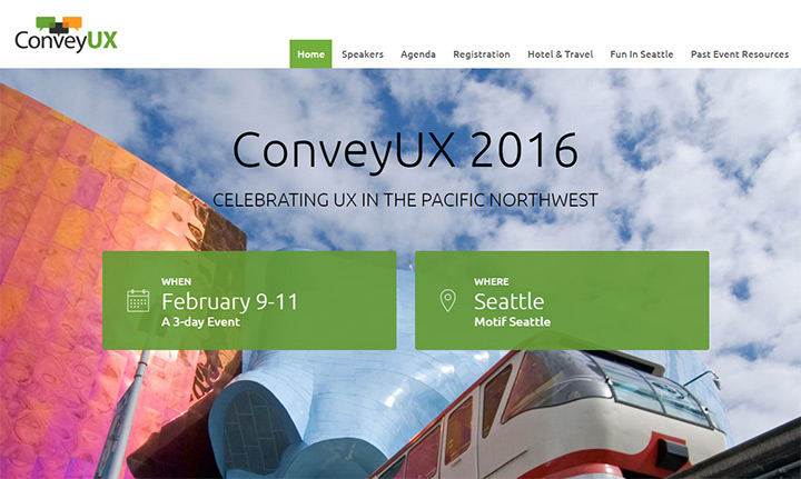 convey ux website