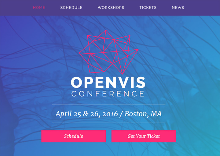 openvis conference website design
