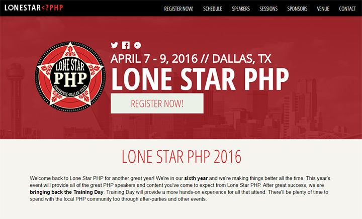 lonestar texas php conference