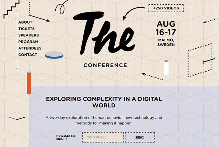 the conference sweden website