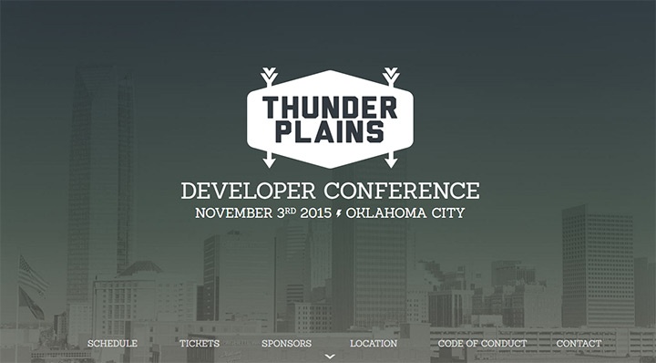 thunder plains conference website