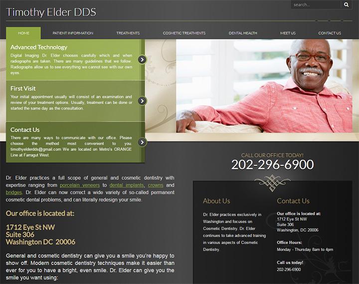 timothy elder dds homepage