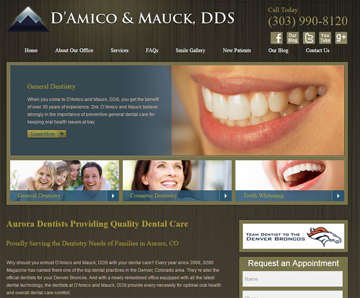 damico mauck homepage
