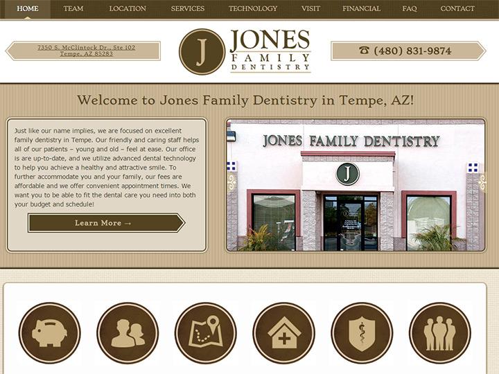 jones family dentistry