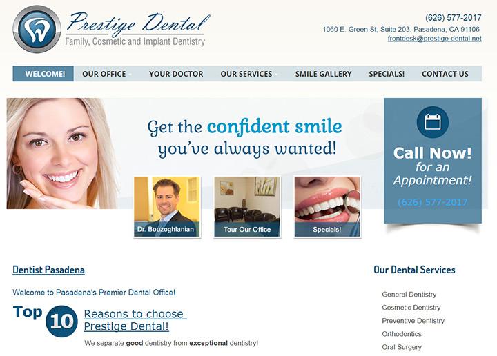 prestige family dental