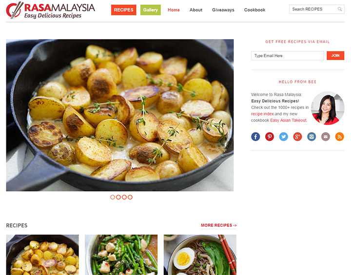 200 best cooking food blogs the ultimate collection for ideas rasa malaysia forumfinder Choice Image