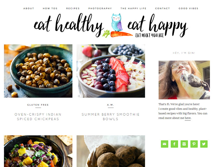 eat healthy happy blog