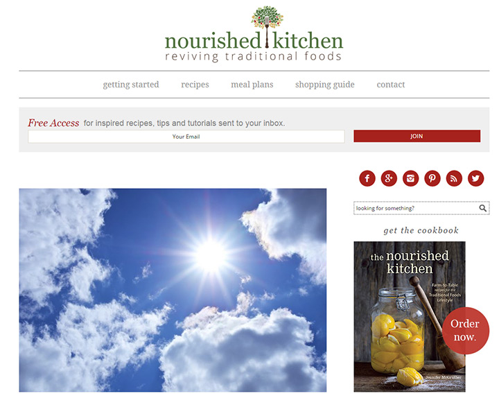 nourished kitchen blog