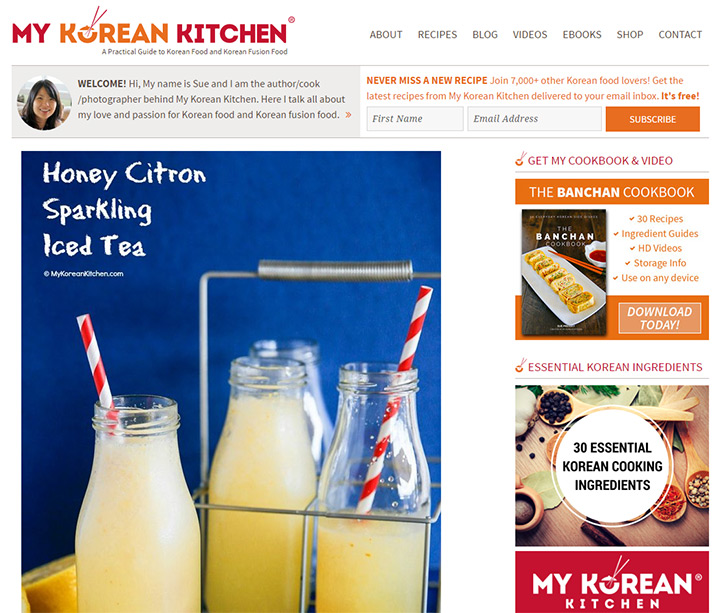 my korean kitchen