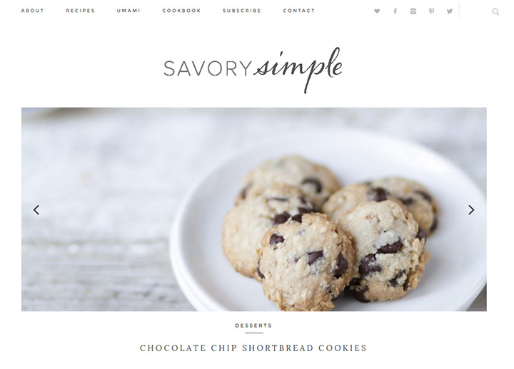 savory simple blog