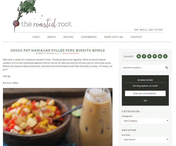 roasted root blog
