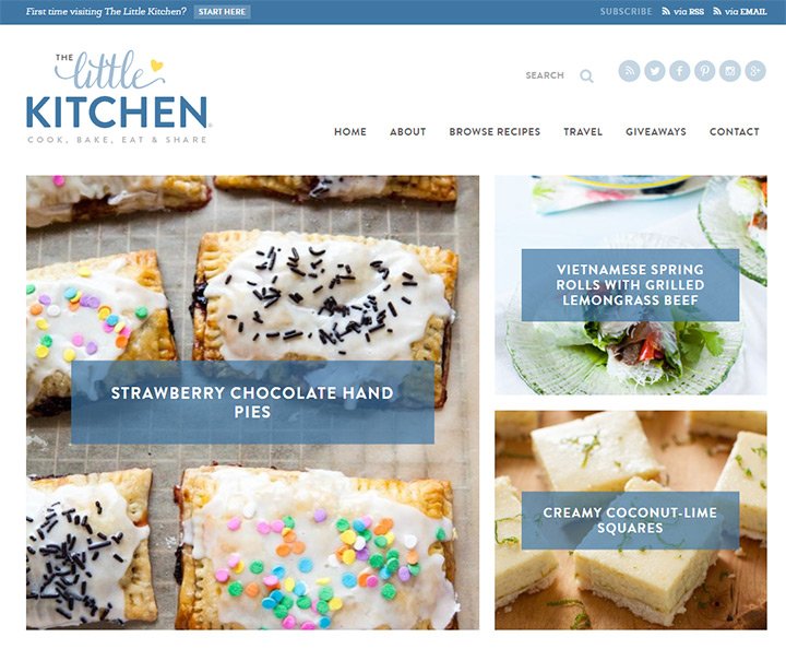 little kitchen blog