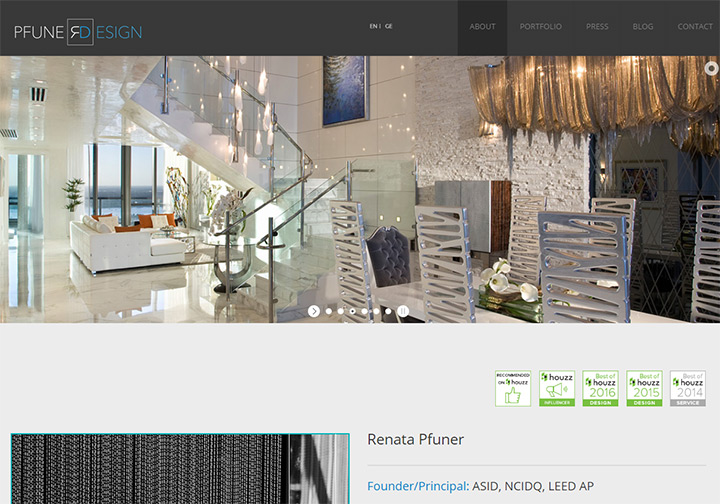 100 Interior Designer Decorator Websites Portfolio Inspiration