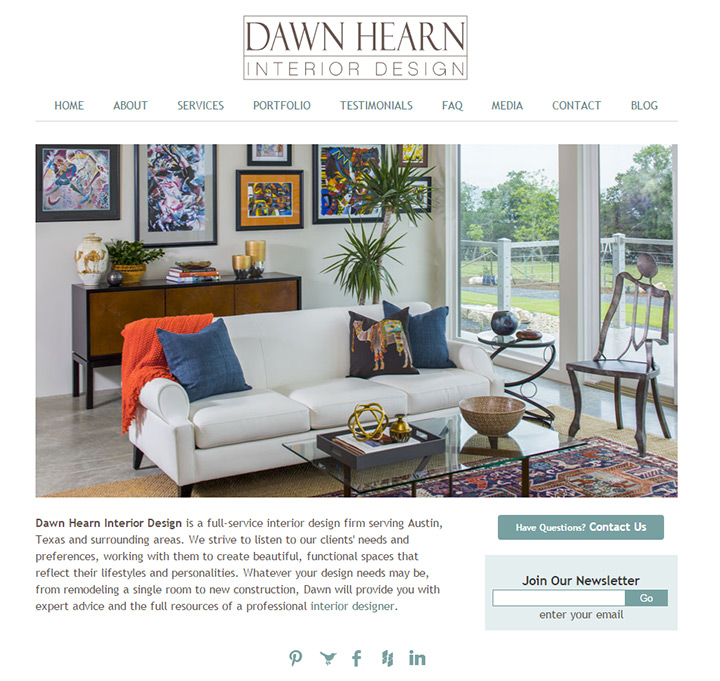 dawn hearn interiors