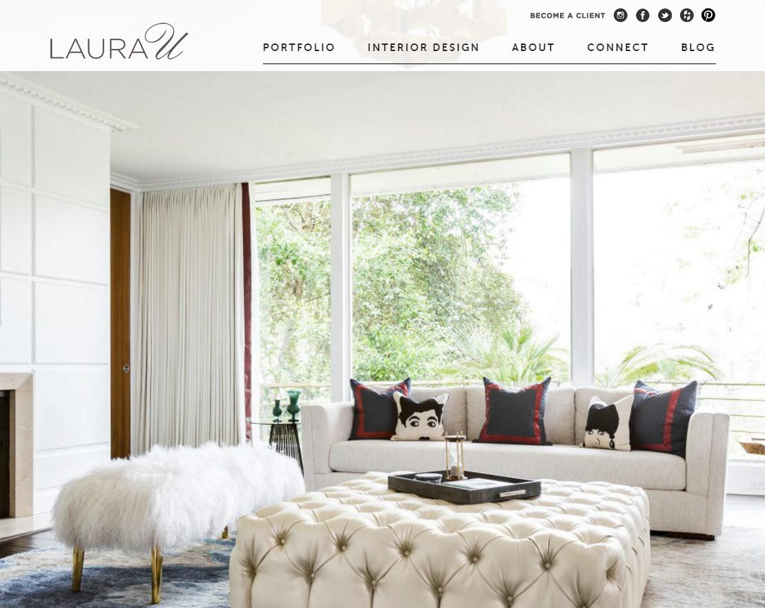 100 interior designer decorator websites portfolio for Laura u interior design