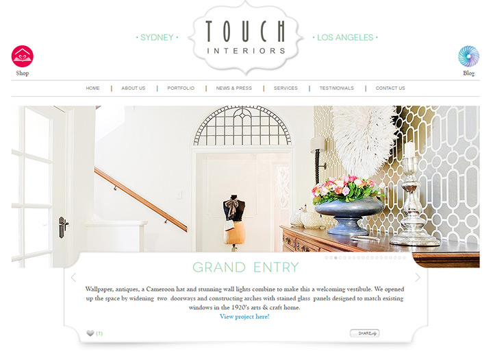 touch interiors