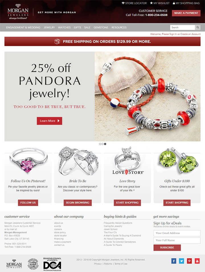 100 Jewelry Jeweler Websites For Design Inspiration