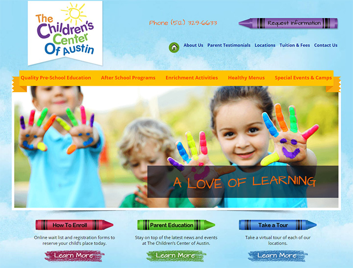 childrens center austin