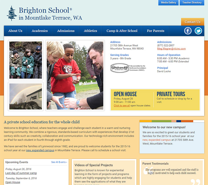 brighton school website