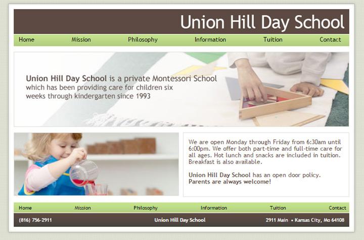 100 Preschool Amp Kindergarten Websites For Design Inspiration